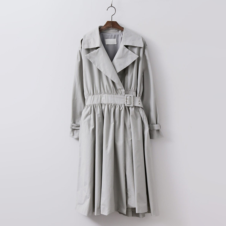 Emma Fit N Flare Trench Jacket