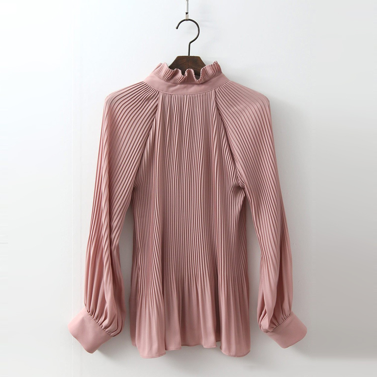 Petal Pleated Blouse