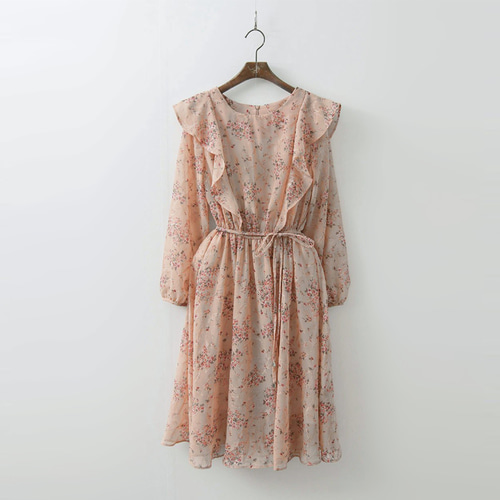 Flower Fit N Flare Dress