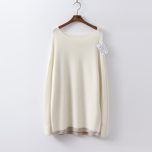 Hoega Wool N Cashmere Boatneck Sweater
