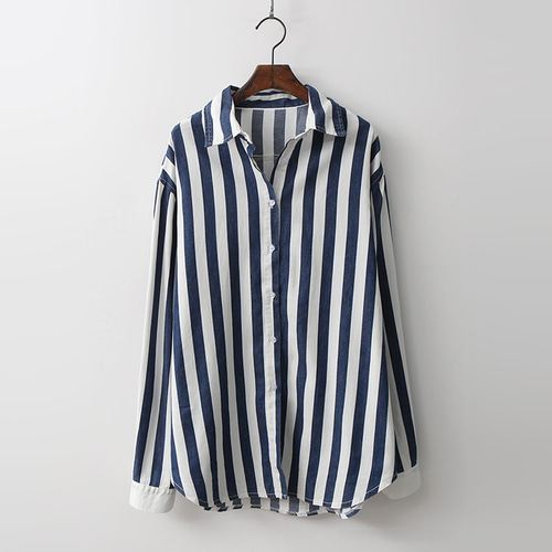 Stripe Denim Shirts