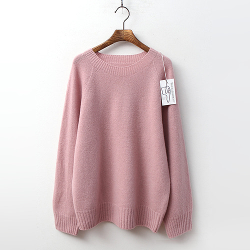 Laine Lamswool Round Sweater