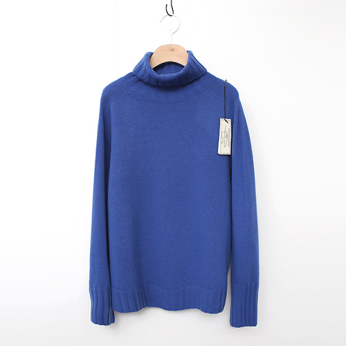 Laine Cashmere Wool Basic Turtleneck Sweater