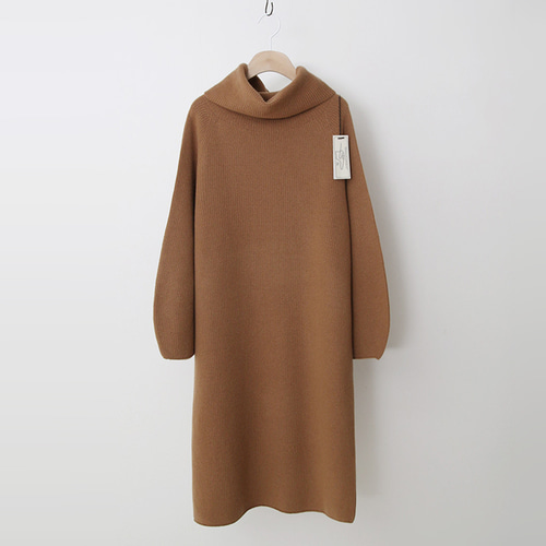 Laine Cashmere Wool Warmer Turtleneck Dress