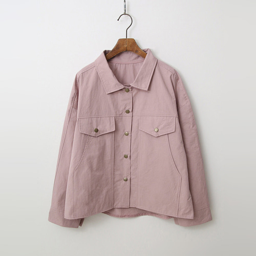 Spring Cotton Trucker Jacket