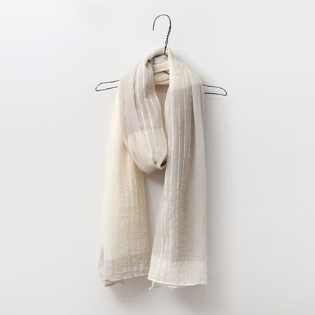 Cotton Combo Scarf