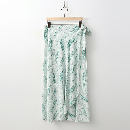 Leaf Wrap Skirt