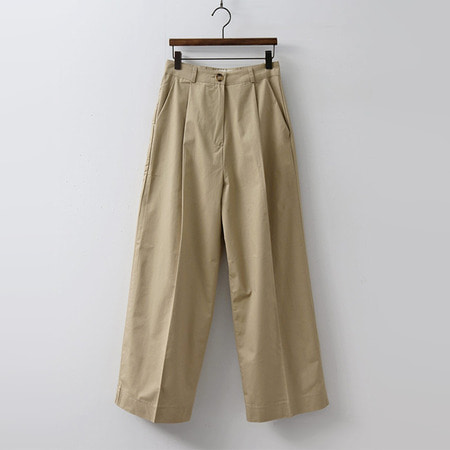 Sally Cotton Wide Pants
