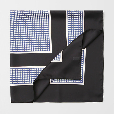New Some Dot Square Scarf