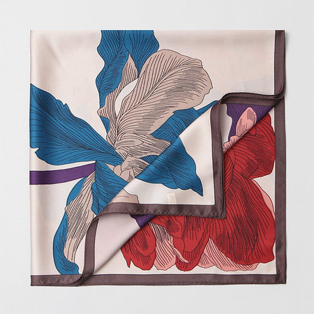 New Angel Flower Square Scarf