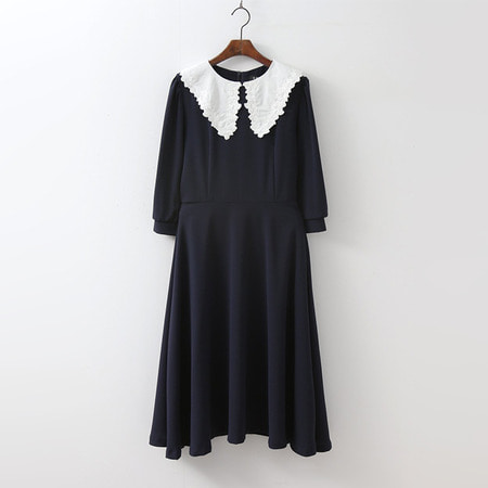 Blouson Lace Dress