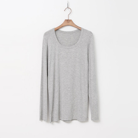 Round Long Sleeve Tee