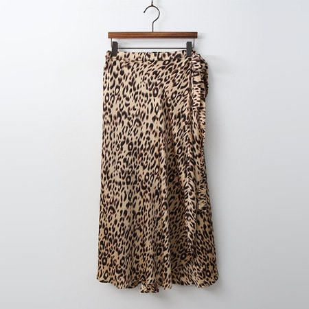 Leopard Wrap Skirt