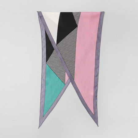 Geometry Diamond Scarf