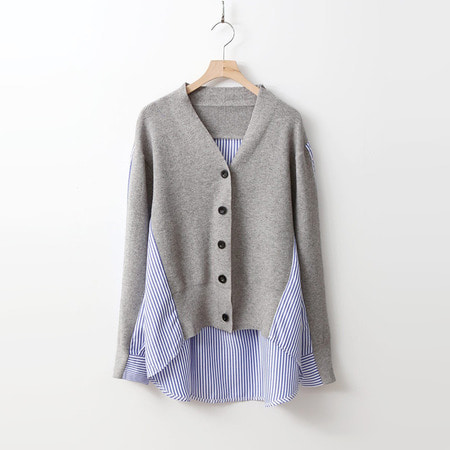 Wool Multi Cardigan