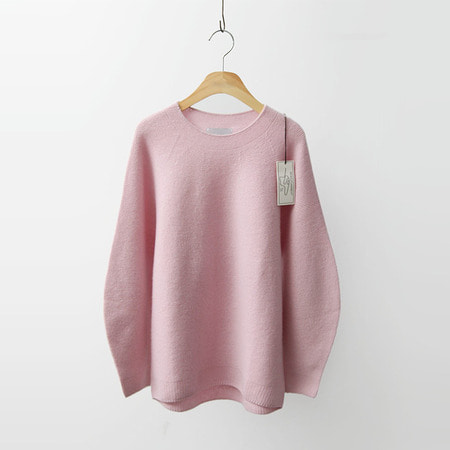 Hoega Cashmere Wool Volume Sweater