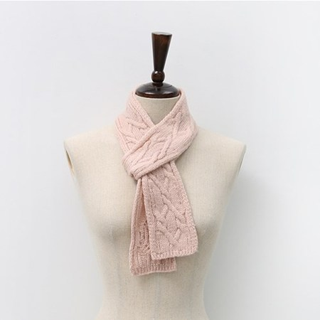 Twist Mini Knit Muffler