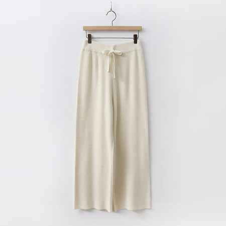 Wool Easy Knit Pants