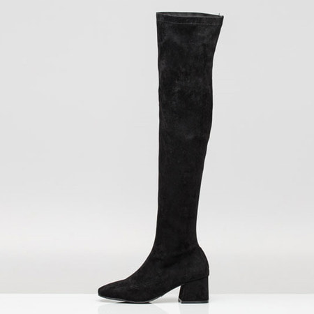 Suede Over The Knee High Boots