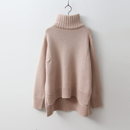 Cashmere Wool Turtleneck Sweater