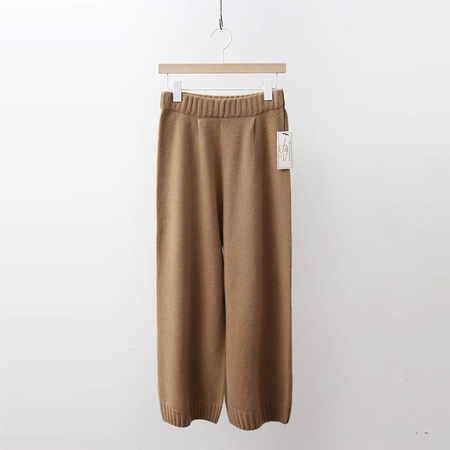 Hoega Cashmere Wool Wide Pants