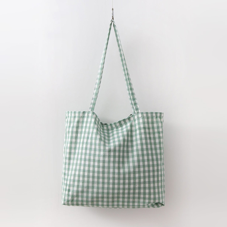 Gingham Check Eco Bag