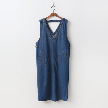 Chung Denim Long Dress
