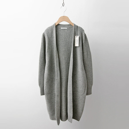 Hoega Wool Cashmere Pocket Cardigan