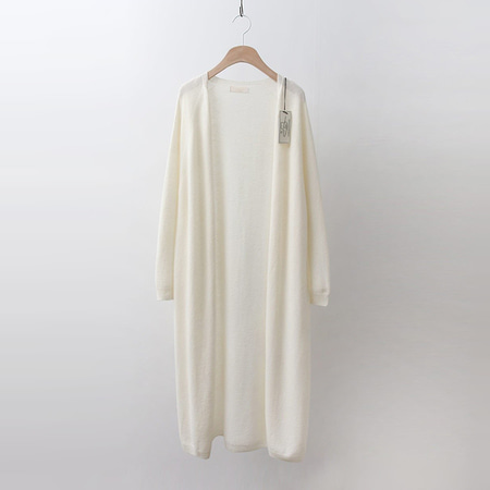 Hoega Wool Cashmere Long Cardigan
