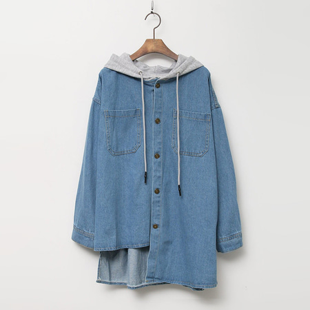 Hood Denim Jumper