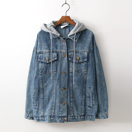 New Hood Denim Jacket