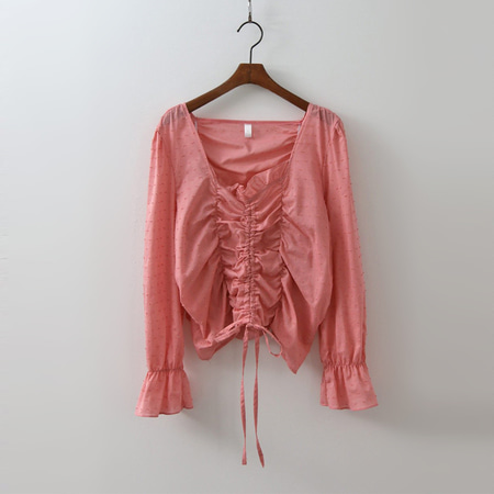 Rococo Shirring Blouse
