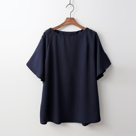 Swing Button Blouse