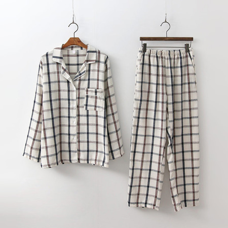 Mono Pajamas Set - 커플룩