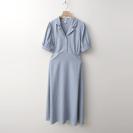 Linen Laurel Long Dress