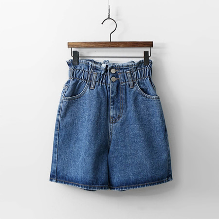Boho Denim Shorts