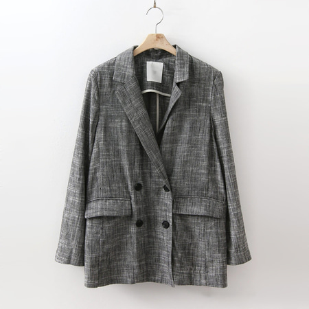 Linen Double Button Jacket