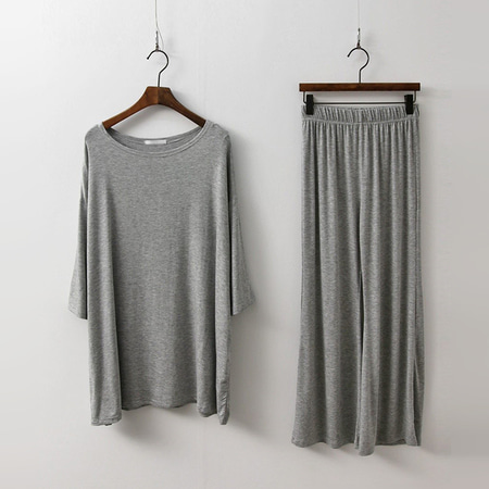 [Set] Easy Tee + Pants
