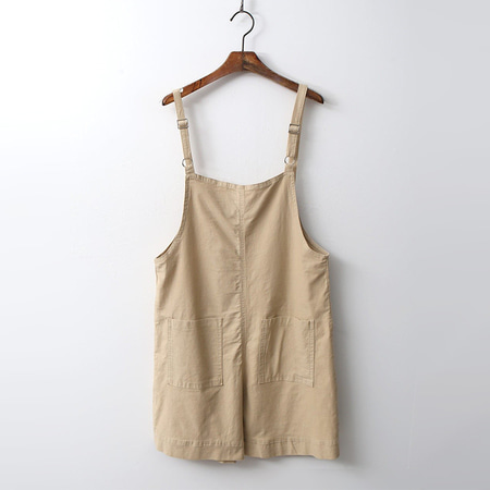 Cotton Overall Shorts