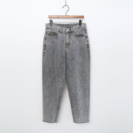 Ice Grey Straight Jeans
