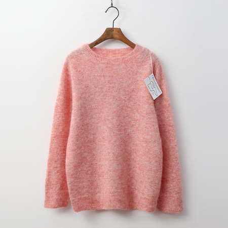 Hoega Super Mohair Wool Round Sweater