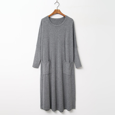 Wool N Cashmere Pocket Knit Dress