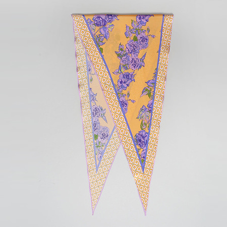 Silk Garden Diamond Scarf