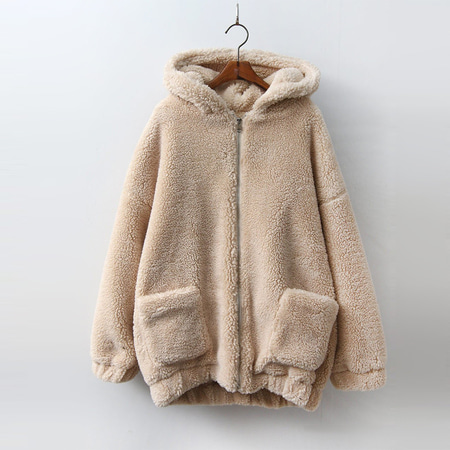 Teddy Bear Hooded Jumper