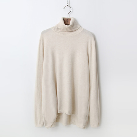 Cashmere N Wool Turtleneck Knit