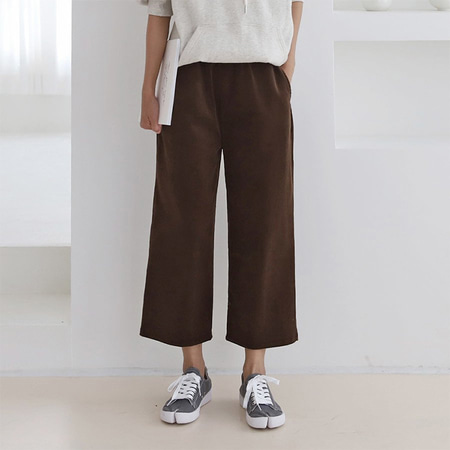 New Corduroy Wide Pants
