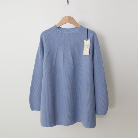 Laine Cashmere Wool Swing Sweater