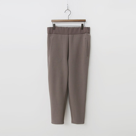 Wool Semi Baggy Pants