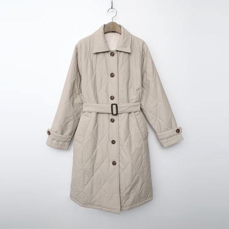 Trench Padding Coat - 인조퍼안감