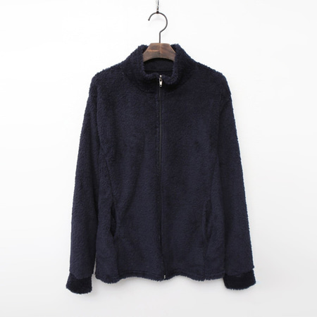 Sherpa Fleece Zip Jumper